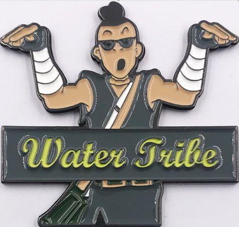 Avatar Inspired - Boomerang Guy Water Tribe Pin