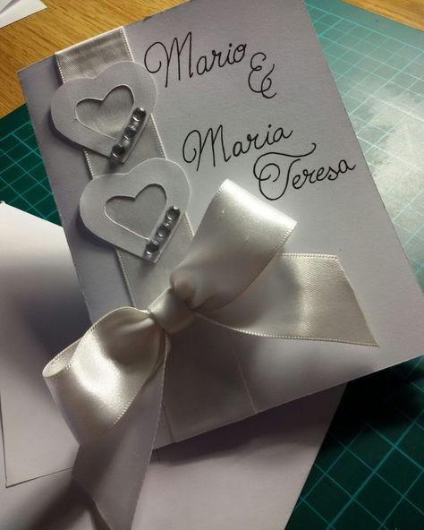 Biglietto d'auguri per matrimonio personalizzato realizzato da me...