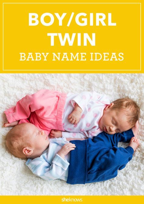 Boy Girl Twin Names That Actually Work With Images Boy Girl
