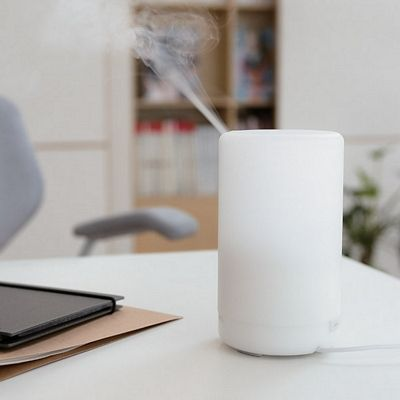 A2 (100ml) Ultrasonic Aroma Diffuser Air Humidifier Purifier 7 Color LED Light, 4 Timer, 3 Hours Mist, Auto Off, Super Quiet