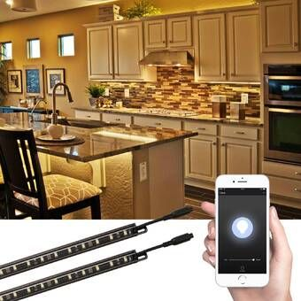 Smart Led 196 Under Cabinet Tape Light Kitchen Under Cabinet