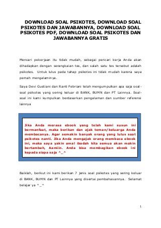 Download Soal Psikotes Dan Jawabannya In 2020 Dan Download The Orator