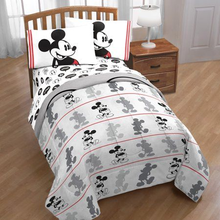 Home Bed In A Bag Mickey Mouse Bed
