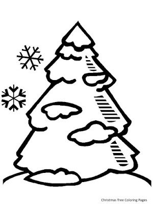 Christmas Tree Coloring Pages Tree Coloring Page Pine Tree Drawing