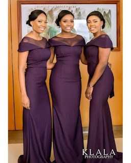 Wow 2018 Bridesmaid Dresses For Nigerian Women Dark Purple Bridesmaid Dresses Mermaid Long Bridesmaid Dresses Bridesmaid Dresses Plus Size