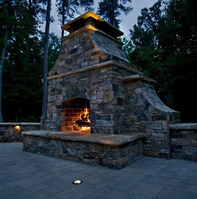 5 Questions To Ask When Installing Your Outdoor Fireplace Outdoor Fireplace Plans Outdoor Fireplace Kits Outdoor Fireplace