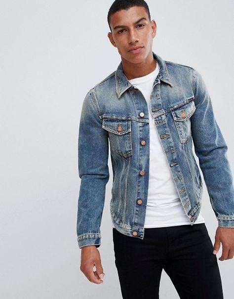 Nudie Jeans Co Billy Denim Jacket Shimmering Indigo