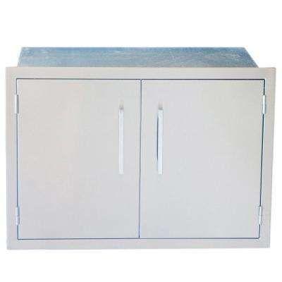 Signature Series 30 In Weather Sealed Dry Storage Pantry Kitchen Storage Outdoor Kitchen Cabinets Storage