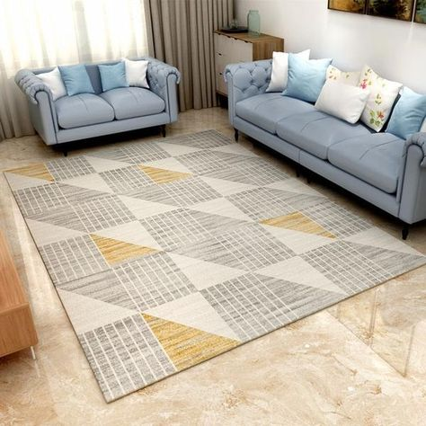 Modern Nordic Memory Foam Rug Large Rugs Rugs Rugs In Living Room