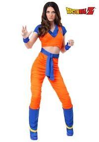 Dragon Ball Z Costume Ideas for Women