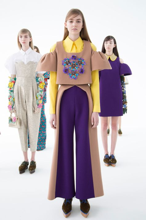 Delpozo at New York Fashion Week Fall 2016 - Backstage Runway Photos