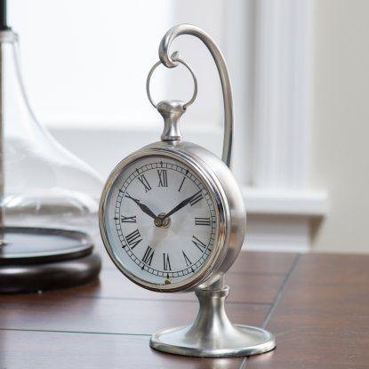Prescott Hanging Clock Hayneedle Mantel Clocks