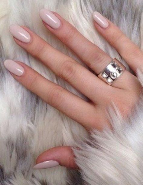 Nail shape inspiration is everywhere, if you're looking. But your best nail shape inspo should be your own hands and fingers #neutralnail
