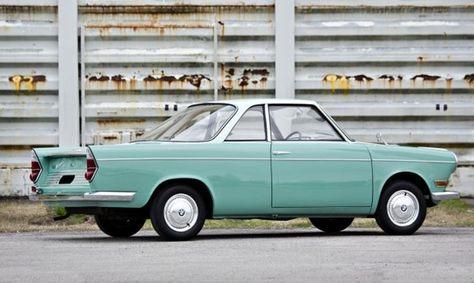 BMW 700 CS--Coupe Sport--Werbung von 1963