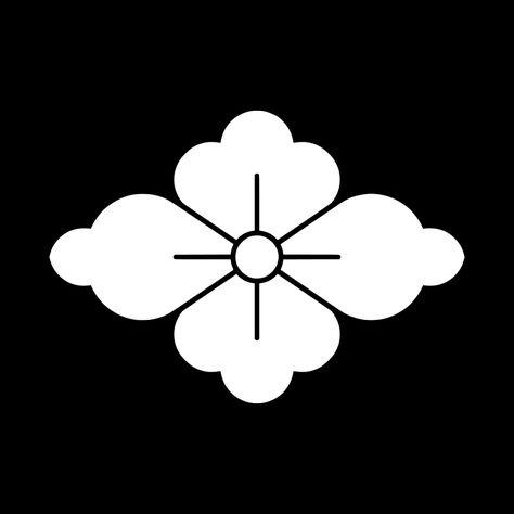 花菱 はなびし Hana Bishi The Design Of The Flower Hishi 家紋 デザイン 紋章