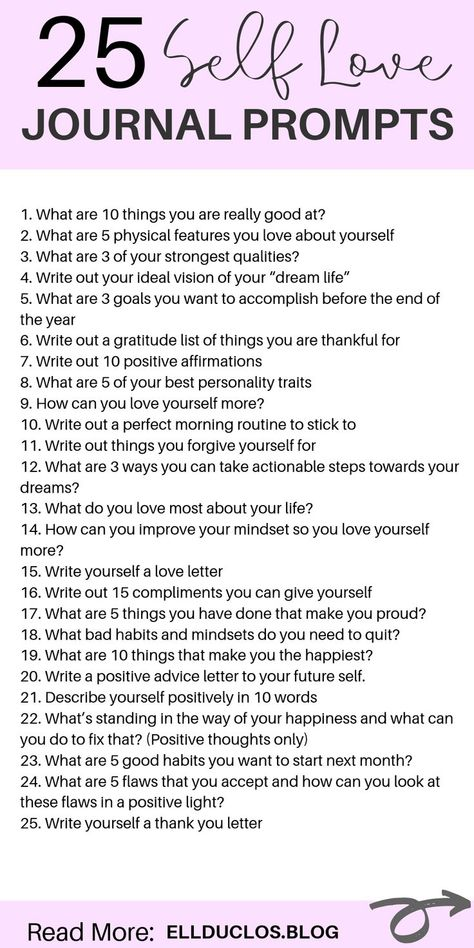 25 journal prompts for self love and confidence building! How to love yourself again through journaling. A self love journey. #selflove #journalprompts #journalingprompts #selflovejourney #selflovetips #confidenceboost #confidencetips