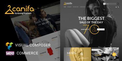 Canifa v2.5 – Responsive WooCommerce WordPress Theme