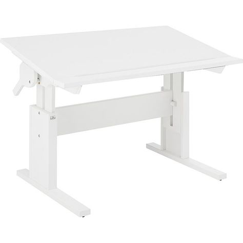 Lifetime Schreibtisch Hohenverstellbar Schragstellbar Weiss