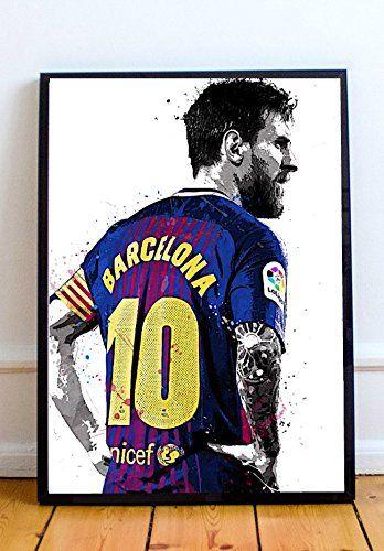 Lionel Messi Limited Poster Artwork Professional Wall Art Merchandise More 8x10 Poster Artwork Lionel Messi Artwork