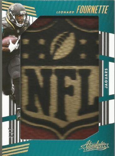 Leonard Fournette 2018 Absolute Jumbo Nfl Shield Relic 2 4 Jaguars Jns Lf Football Cards Jacksonville Jaguars Football Jacksonville Jaguars