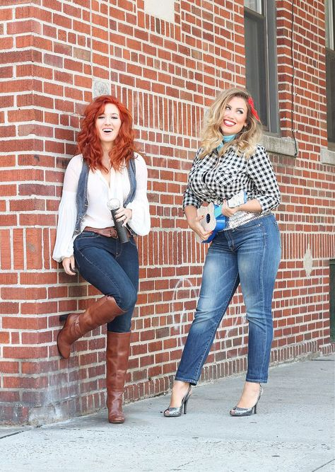 Reba McEntire and Dolly Parton BFF Costumescountryliving