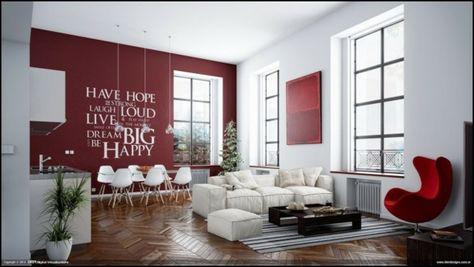 Exemple deco salon moderne chic : A voir sur http://www ...