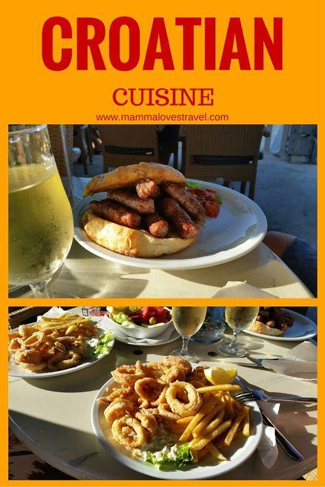 Food Croatians Eat With Images Croatian Cuisine Croatian Recipes Traditional Croatian Food
