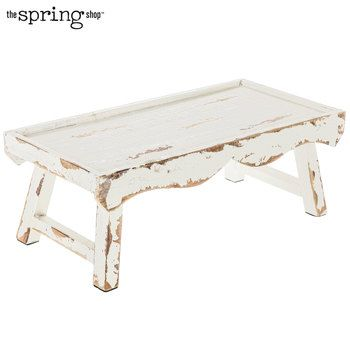 Antique White Wood Tray With Legs White Wood Wood Tray Wood