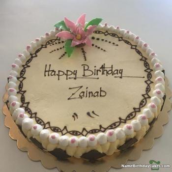 Happy Birthday Zainab Cake Download Share Birthday Wishes