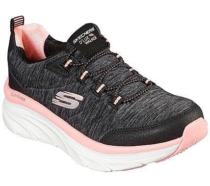 Skechers Women S D Lux Walker Cross Motion Relaxed Fit Sneakers