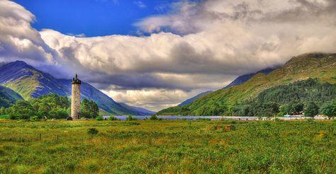 Scotland has many romantic and inspiring views!