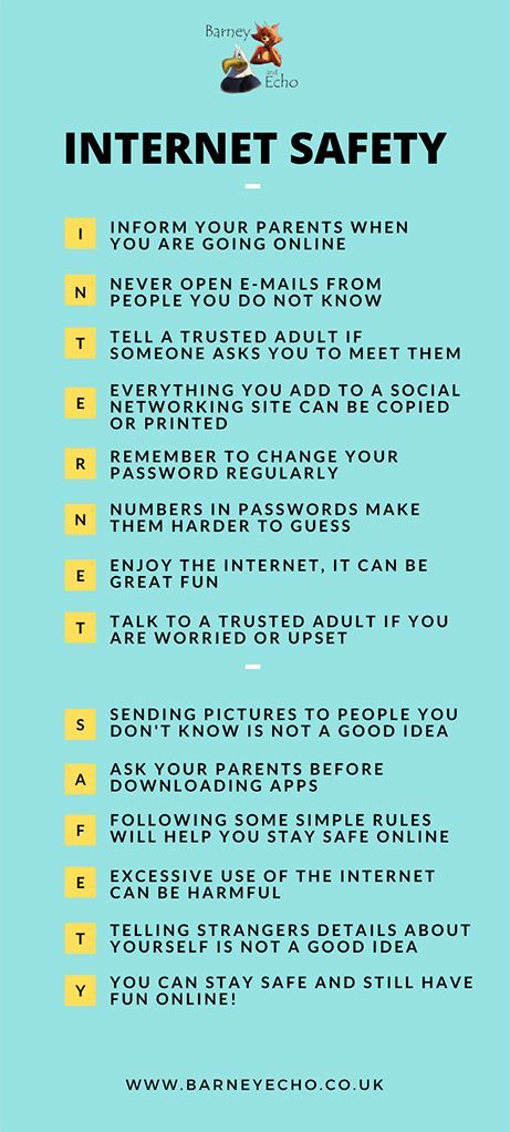 Internet Safety Infographic Acrostic Ks1 Online Safety Teaching Resource In 2020 Internet Safety Online Safety Internet Safety For Kids