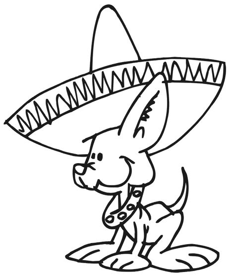 28de0dc b b f1276fa chihuahua art coloring pages for kids