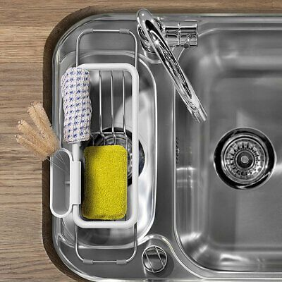 lakeland expandable sink tidy ebay in 2020 tidy kitchen sink dish drainer tidying tidy kitchen sink dish drainer