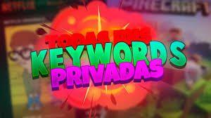 KeyWords Minecraft Unmigrated Free   Combo List Privados en 2019