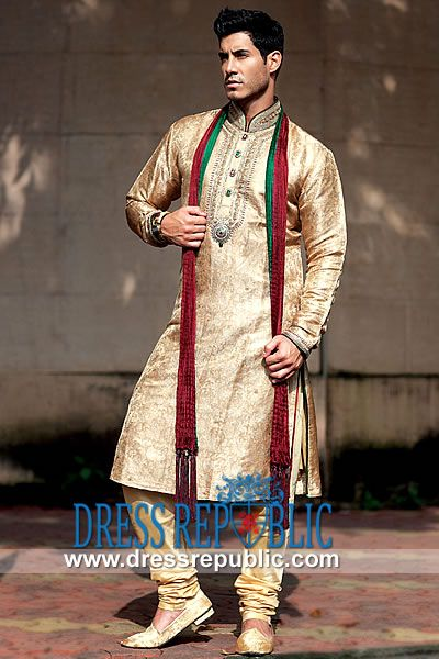 Style DRM1565 - DRM1565, Men?s Dress on Engagement, Men's Formal Kurta on Engagement 2013 Collection by www.dressrepublic.com