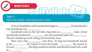 Kunci Jawaban Bahasa Inggris Chapter 12 Writing Task 1 Hal 166 Inggris Bahasa Inggris Buku