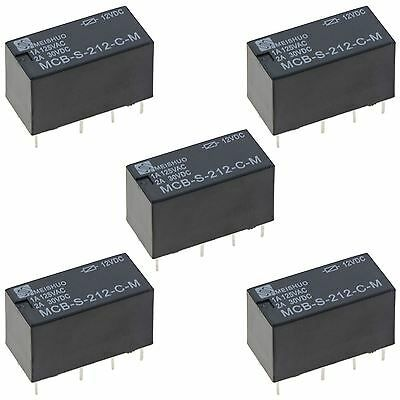 Details About 5 X Subminiature 12v Changeover Relay 2a Dpdt Relay Ebay Decorative Boxes