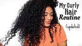 UPDATED Curly Hair Routine (FINALLY!) Natural Hair | jasmeannnn