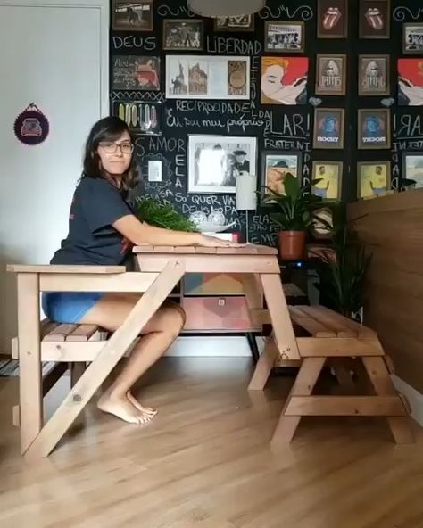 Multifunctional Bench By Moveis Da Roca Ape Da Nanda