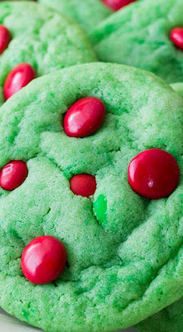 Grinch Cookies