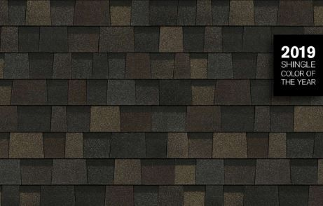 Owens Corning Introduces Black Sable As 2019 Shingle Color Of The Year Shingle Colors Shingling Owens Corning Shingles