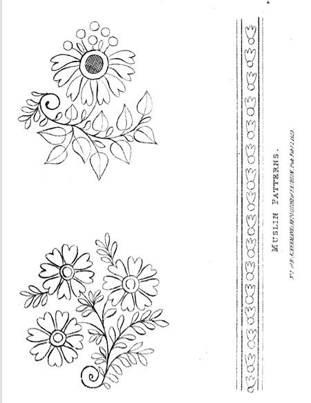 Embroidery Pattern Riscos Pinterest Patterns Embroidery