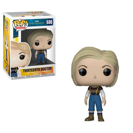 Doctor Who Pop Vinyl Figure 13th Doctor Vinyl Figures Doctor Who Pop Vinyl