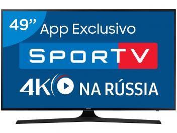 Smart Tv Led 49 Samsung 4k Ultra Hd 49mu6100 Conversor Digital