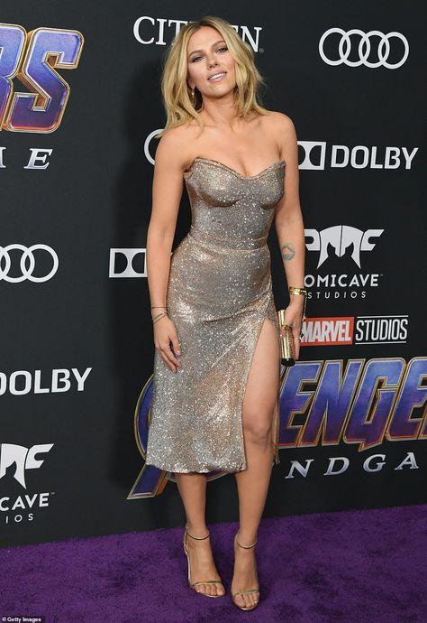 Scarlett Johansson, Brie Larson dazzle at Avengers: Endgame premiere