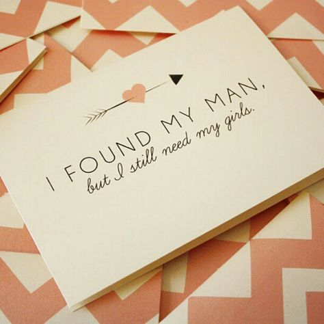 Popping the Question - A thoughtful card is a great way to ask your #bridesmaids to be in your #wedding.