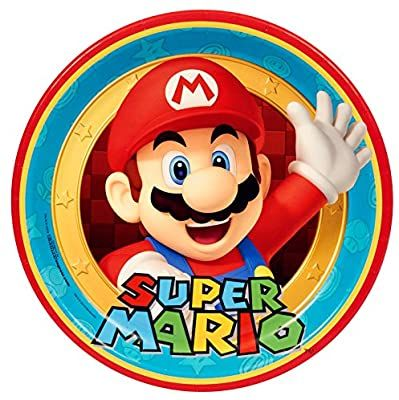 Amazon Com Super Mario Party Birthday Supplies 48 Pack Lunch Plates Toys Games Super Mario Birthday Party Super Mario Party Mario Birthday Party