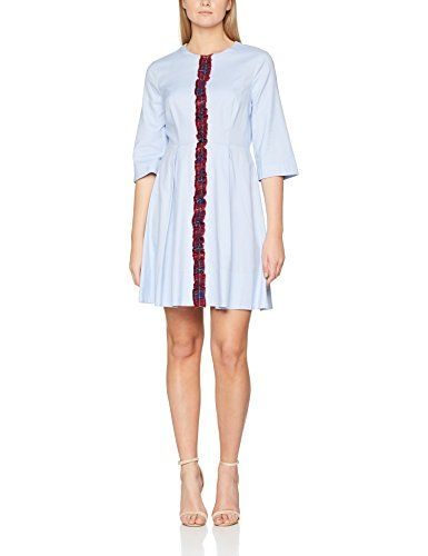 Tommy Hilfiger Damen Casual Dress Jessica Oxford 3 4 Slv Blau Shirt Blue 36 Herstellergrosse 6 In 2019 Tommy Hilfiger Fashion Dresses