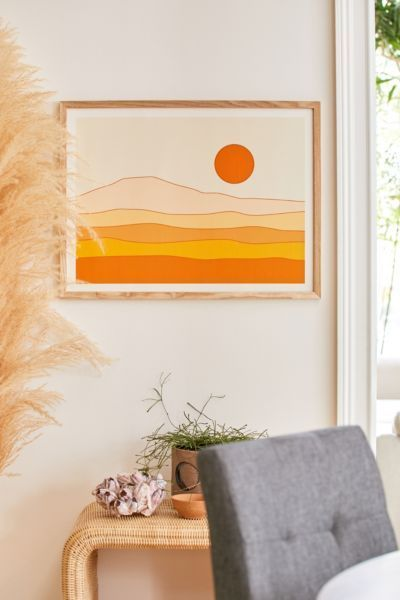 7 Cool Things To Hang On Your Walls In 2020 In 2020 Desert Landscape Art Old Art Landscape Wall Art
